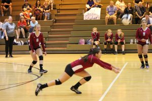 C Team Volleyball vs. Lowell  8/22/17