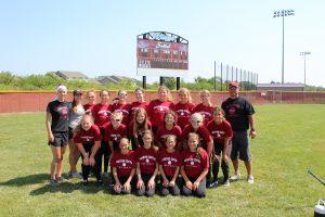 MS Softball vs. Munster and Westville  8/19/17