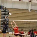 Girls Junior Varsity Volleyball beats Calumet 0 – 2