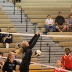 Girls Varsity Volleyball beats Calumet 0 – 3