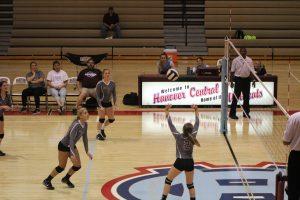 JV Volleyball vs. Hebron  8/29/17