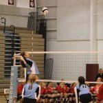 Girls Varsity Volleyball beats Hebron Jr/sr 0 – 3
