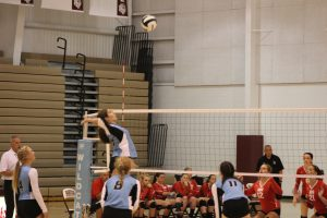 Varsity Volleyball vs. Hebron  8/29/17