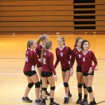 Girls C Volleyball beats Whiting 0 – 2