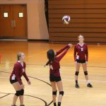 Girls C Volleyball beats Chesterton 0 – 2