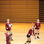 Girls C Volleyball beats North Newton 2 – 0