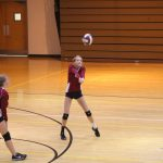 Girls C Volleyball beats Kankakee Valley 2 – 0