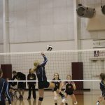 Girls Junior Varsity Volleyball beats North Newton Jr/sr 2 – 0