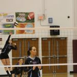 Girls Junior Varsity Volleyball beats Griffith 2 – 0