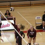 Girls Varsity Volleyball beats Whiting 0 – 3
