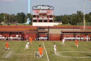 Varsity Boys Soccer vs. Westville  8/31/17
