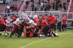 Varsity Football @ Lake Station  9/1/17