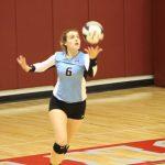 Girls Varsity Volleyball beats North Newton Jr/sr 3 – 0