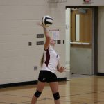 Girls 7th Grade Volleyball beats Lake Ridge Middle School 0 – 2