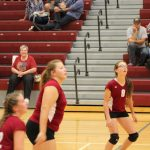 Girls 8th Grade Volleyball falls to River Forest Jr. 0 – 2