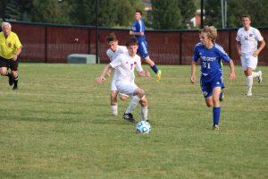 Boys JV Soccer vs. Boone Grove  9/12/17