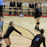 Girls Varsity Volleyball beats Wheeler 1 – 3