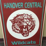 Win a vintage Hanover Central sign at tonight's FB Game