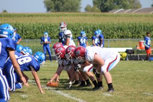 JV Football vs. Boone Grove  9/16/17
