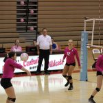 Girls Junior Varsity Volleyball beats Highland 2 – 1