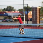 Boys Varsity Tennis beats Bishop Noll Institute 2 – 3