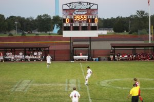 Boys Varsity Soccer vs. Kankakee Valley  9/25/17