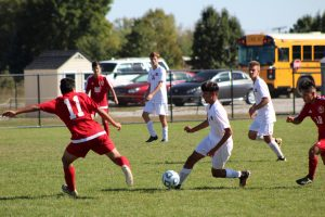 Varsity Boys Soccer vs. Hammond Morton  9/30/17