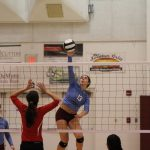 Post-Tribune Article – Fire starter: Sarah Spangler sparks Hanover Central as outside hitter