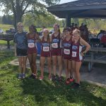 Girls Varsity Cross Country finishes in 5th Place @ Crown Point Sectional.  Advances to IHSAA Regional!