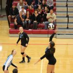 Girls Varsity Volleyball beats Ihsaa Sectional Vs. Calumet 3 – 0