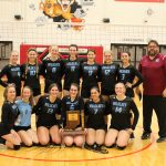 Sectional Champs!  Girls Varsity Volleyball beats Kankakee Valley 3 – 2