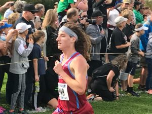 Cross Country at IHSAA Semi-State (New Prairie HS)  10/21/17