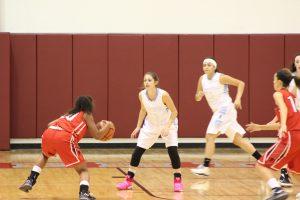 Girls JV Basketball vs. Portage  11/1/17