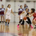 Girls Junior Varsity Basketball falls to Portage 52 – 8