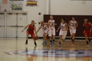 Varsity Girls Basketball vs. Rensselaer Central  11/7/17
