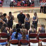 Girls Varsity Basketball falls to Crown Point 69 – 18