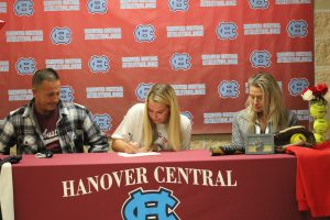 Signing Day-Jared Comia and Leah Mokos