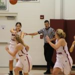 Girls Varsity Basketball beats Whiting 49 – 48