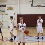 Boys C Team Basketball beats Boone Grove 39 – 10