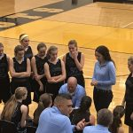 Girls Junior Varsity Basketball beats Kouts Jr/sr 46 – 30