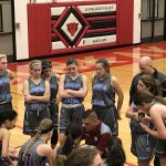 Girls Varsity Basketball falls to Kankakee Valley 79 – 32