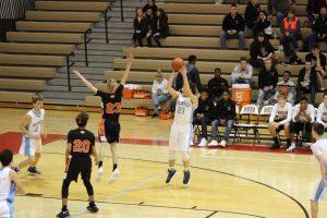 Boys JV Basketball vs. Westville  12/19/17