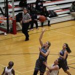 Girls Varsity Basketball beats Calumet 33 – 28
