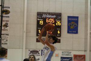 Boys JV Basketball vs. Calumet  12/22/17