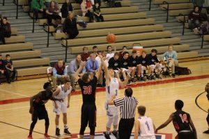 Boys Varsity Basketball vs. Calumet  12/22/17