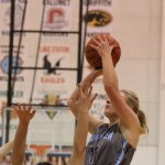 Girls Varsity Basketball beats Griffith in the Wildcat Winter Classic 35 – 34
