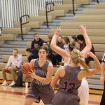 Girls Varsity Basketball beats Hobart in the Wildcat Winter Classic 29 – 22