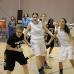 Girls Junior Varsity Basketball beats Griffith 26 – 15