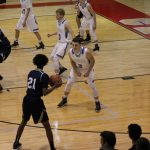 Boys Varsity Basketball falls to Bishop Noll Institute 55 – 54
