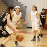 Girls Junior Varsity Basketball beats Griffith 53 – 10